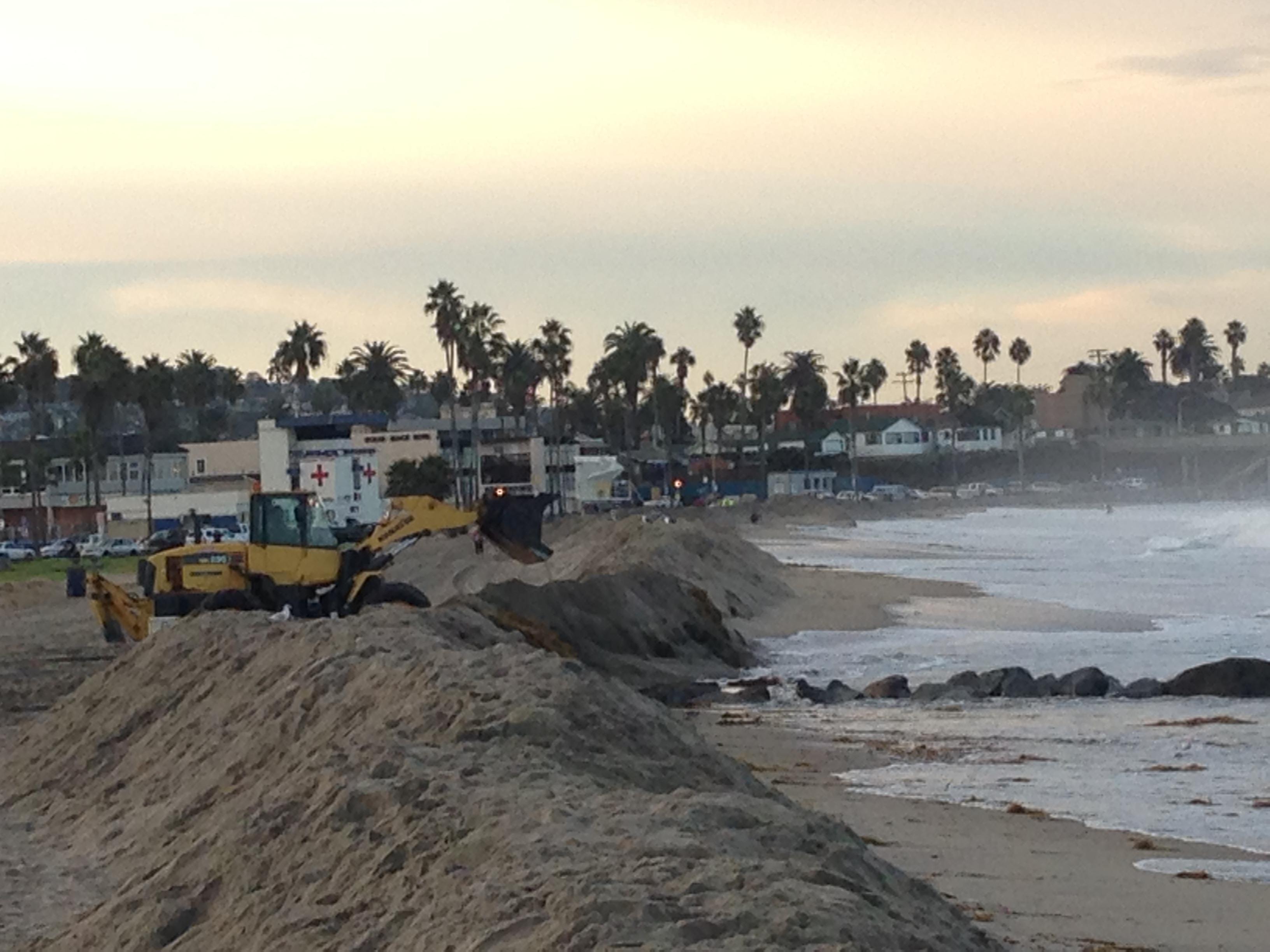 november 13 sand diego reinforcing sand berm